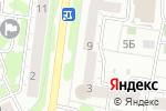 Схема проезда до компании Бизнес-Градъ в Барнауле
