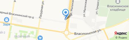 ЗерноТЭК на карте Барнаула