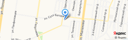 У Марины на карте Барнаула