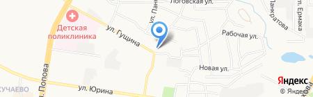 Почтовое отделение №19 на карте Барнаула