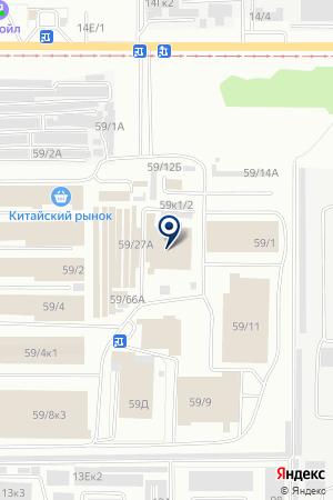Эвелина на карте Барнаула