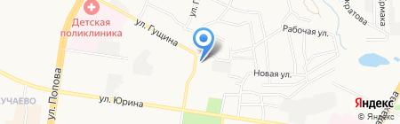 Бастет на карте Барнаула