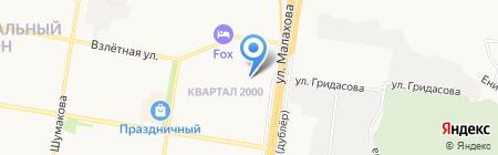 SV-поиск на карте Барнаула