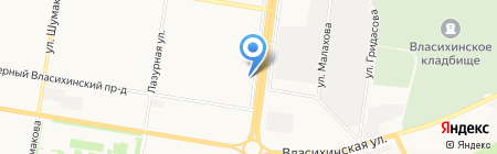 АБВГДейка на карте Барнаула