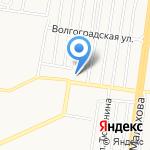 Комиссия по делам несовершеннолетних и защите их прав Администрации Индустриального района на карте Барнаула