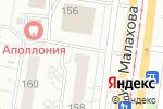 Схема проезда до компании ДверьВДом в Барнауле