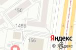 Схема проезда до компании Саффи в Барнауле