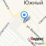 АлтайГАЗавтосервис на карте Барнаула