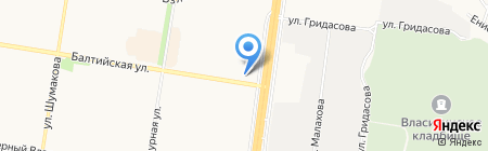 Фантазия на карте Барнаула