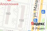 Схема проезда до компании Медок в Барнауле
