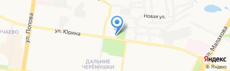 Ювелирная мастерская на карте Барнаула