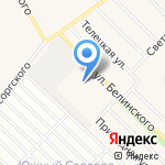 АГАС-Транс на карте Барнаула