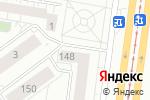 Схема проезда до компании Sakura в Барнауле