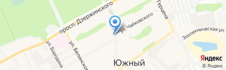 Почтовое отделение №34 на карте Барнаула
