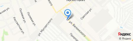 ГАЗ Южный на карте Барнаула