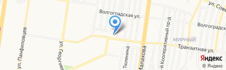 Союз пенсионеров Индустриального района на карте Барнаула