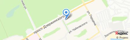 Мастерская по ремонту часов и изготовлению ключей на карте Барнаула