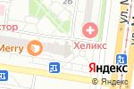 Схема проезда до компании Ваши двери в Барнауле