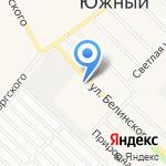 АГАС на карте Барнаула