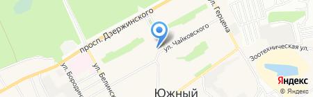 Теремок на карте Барнаула