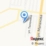 Барнаульская прокуратура по надзору за соблюдением законов в исправительных учреждениях на карте Барнаула