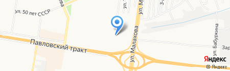 Имидж на карте Барнаула