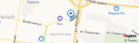 Фотостудия Андрея Вагнера на карте Барнаула