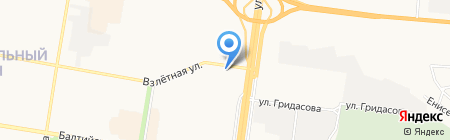 Татьянин день на карте Барнаула
