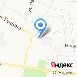 Кэтрин на карте Барнаула