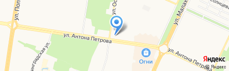 Дарина на карте Барнаула