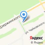 Магазин канцелярских товаров и часов на карте Барнаула