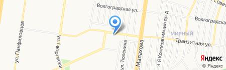 Традиции вкуса 1 на карте Барнаула