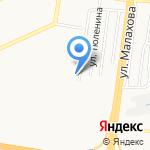 Комплексный центр социального обслуживания населения г. Барнаула на карте Барнаула
