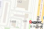 Схема проезда до компании БРЕНД в Барнауле