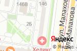 Схема проезда до компании Для Вас в Барнауле