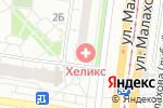 Схема проезда до компании Платежный терминал, Россельхозбанк в Барнауле