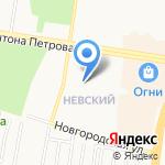 Юнитек на карте Барнаула