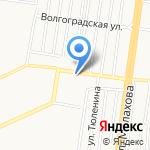Магазин косметики и парфюмерии на карте Барнаула