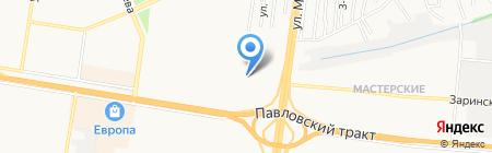 Транспортная компания на карте Барнаула