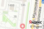 Схема проезда до компании Школа игры на гитаре в Барнауле