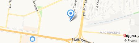 Сила с нами на карте Барнаула