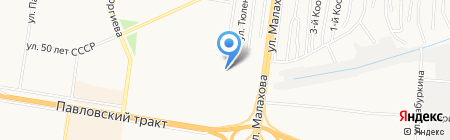 Алтайстройсервис на карте Барнаула