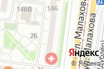 Схема проезда до компании Суфэль в Барнауле