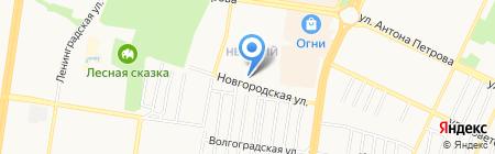 Запcибэлектросервис на карте Барнаула