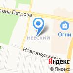 Город улыбок на карте Барнаула