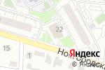 Схема проезда до компании Инномед в Барнауле