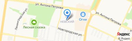 Лорис на карте Барнаула