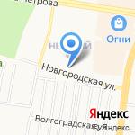 Краски Холи Барнаул на карте Барнаула
