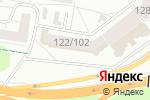 Схема проезда до компании Академия русского бильярда в Барнауле