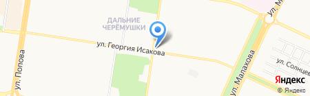 Бэби на карте Барнаула